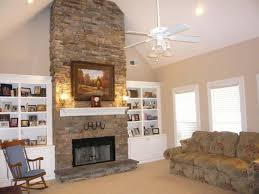 Fireplace Tall Arch