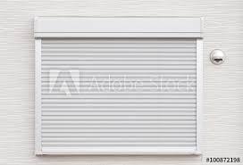 white garage door texture. White Metal Roller Door Shutter Background And Texture. Garage Texture
