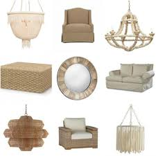 new in the neutral seaside decor and lighting