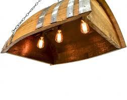 barrel kayu wine barrel island or bar light starting at 700 00