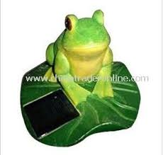 Another Great Find On Zulily Solar Eyes Frog Figurine Solar Frog Lights