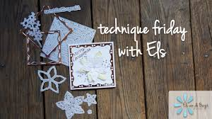 in this week s video els shows us how to recreate an elegant holiday project featuring