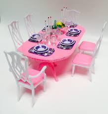 Amazon Barbie Size Dollhouse Furniture Gloria Dining Room