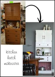 Kitchen Remake White Kitchen Hutch Meltedlovesus