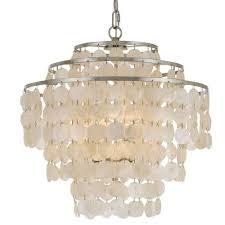 brielle 4 light chandelier in antique silver