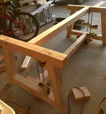 how to build a farm table and instructions
