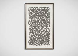 ethan allen wall art turquoise paper art ethan allen
