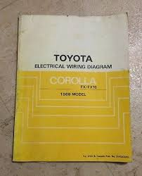 2010 toyota camry hybrid vehicle oem electrical wiring diagram 1988 toyota corolla electrical wiring diagram manual oem fx fx16