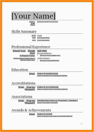 Free Downloadable Resume Templates For Microsoft Word Sample Free