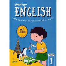 Sách - Hooray English - Tiếng Anh Vừa Học Vừa Chơi Dành Cho Bé Từ 4-6 Tuổi  (Activity Book 1)