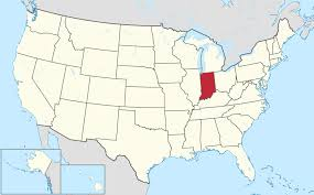 Image result for 1816 - Indiana was admitted to the Union as the 19th American state.