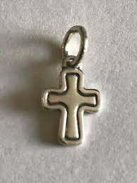 James Avery Retired Silver SANTA BARBARA Cross Charm | eBay