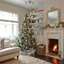 Xmas Living Room Decor Simple Christmas Decorated Living Rooms Ideas Living Room Living