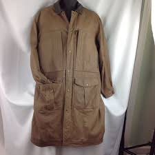 the territory ahead soft leather duster coat jacket trench barn ranch western l