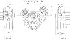 chevy pulley diagram chevy image wiring diagram chevy small block victory pulley systems concept one on chevy 350 pulley diagram