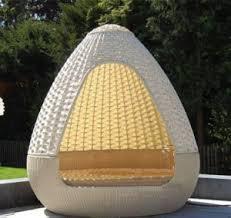 Image Kinjo Futo Spherical Dome Sunshine Lounge Beach Circular Garden Furniture Rattan Sunbed T583 Cort Event Furnishings China Spherical Dome Sunshine Lounge Beach Circular Garden Furniture
