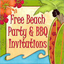 Tropical Party Invitations Tropical Party Invitation Template Orgullolgbt