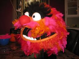 animal muppet costume. Fine Muppet Picture Of Feathering The Head In Animal Muppet Costume
