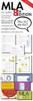 Mla Citation Lecture Handouts Mla 8th Edition In Text Citation