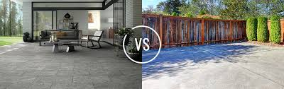 pavers vs concrete comparing costs and