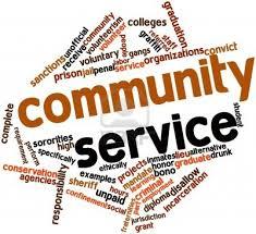 community service picture