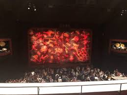 Minskoff Theatre Seating Chart Lion King Minskoff Theatre Section Mezzanine Row E Seat 120 The