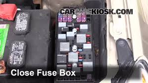 replace a fuse 2008 2012 chevrolet malibu 2008 chevrolet malibu 2007 Chevy Malibu Fuse Box 6 replace cover secure the cover and test component 2007 chevy malibu fuse box diagram