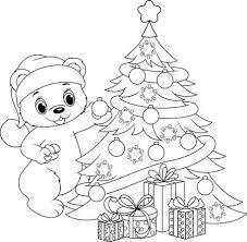 Kleurplaat Kerst Fotos Afbeeldingen En Stock Fotografie 123rf