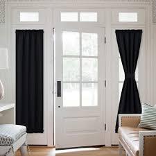 french door curtains patio door curtain