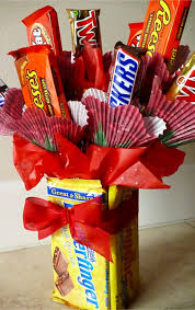 homemade gift idea for him or her or any candy lover valentinesday