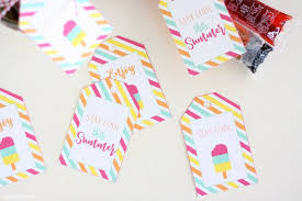 Summer Gift Tags Free Printable Summer Gift Tags Printable Crush