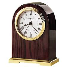 description for wood desk clock