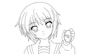 Small Picture Anime Coloring Pages Printable Coloring Coloring Pages