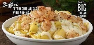 stuffed fettuccine with shrimp big classics olive garden alfredo linguini recipe copycat olive garden