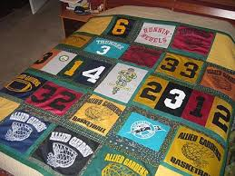 Joanna Norman and Forever Green Quilts - Quilting Gallery ... & ... made with repurposed sports jerseys. Charlie's Bar Mitvah Quilt Adamdwight.com