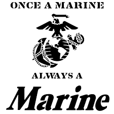 Once A Marine Always A Marine Once A Marine Always A Marine Stencil Sp Stencils Once