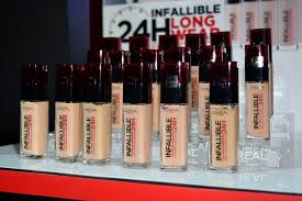 l oreal s infallible makeup intro 35 off promo barat ako