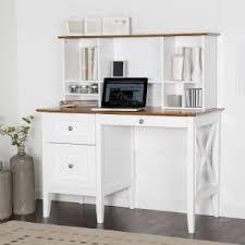 White desk with hutch Built In Belham Living Hampton Desk With Optional Hutch Whiteoak Hayneedle Desk With Hutch Sets Hayneedle