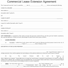 Short Form Commercial Lease Agreement Gallery - Agreement Letter Format