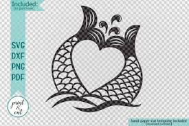 See more ideas about mermaid svg, svg, mermaid. Mermaid Tails Heart Graphic By Cornelia Creative Fabrica