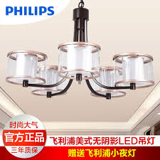 get ations philips led chandelier meilen five eight european modern minimalist living room dining room remote control dimmer