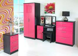 black bedroom furniture for girls. Modren Black Black And Pink Bedroom Furniture Ideas  Decor Girls Inside Black Bedroom Furniture For Girls N