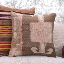 muted vintage rug cushion oriental throw pillows