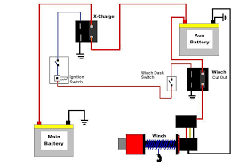 battery isolator switch wiring diagram wirdig winch dual battery system wiring diagram image wiring diagram
