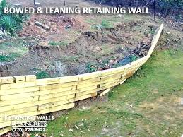4x4 retaining wall retaining walls design how to build