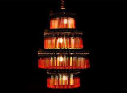 bic ballpoint pen chandelier inhabitat green design innovation architecture green building