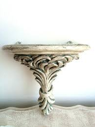 wall sconce shelf shabby chic sconces candles