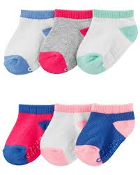Carters Socks Size Chart 6 Pack Socks Carters Com