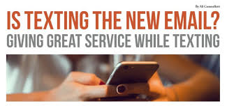 Texting New Email Giving Great Service Ali Cammelletti Vrm Intel