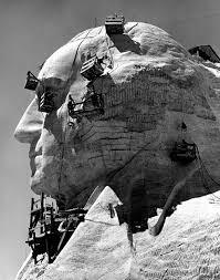 Original Design For Mt Rushmore Mount Rushmore See Photos Of Monument Under Construction